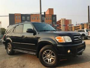 2004 Toyota Sequoia Limited = LEATHER - SUNROOF - DVD
