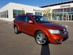 2013 Dodge Journey R/T AWD 7PASS Heated Leather Seats, and Steer