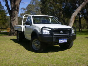 2006 Holden Rodeo RA MY06 LX White 5 Speed Manual Cab Chassis Rockingham Rockingham Area Preview