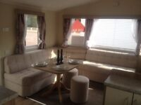 Willerby Rio Gold 2016 3 bed Double glazed on Talacre Beach in north wales