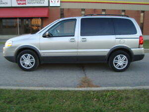 2008 PONTIAC MONTANA SV6 LS 7 PASSENGER ''ONE TAX INCLUDED'' West Island Greater Montréal image 9