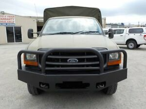 2003 Ford F350 Green Manual Cab Chassis