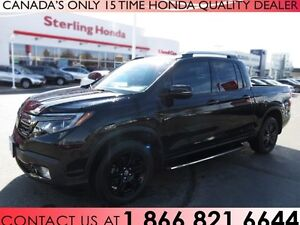 2017 Honda Ridgeline BLACK EDITION | TINT | 1 OWNER!!