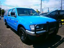 1997 Holden Rodeo TF DLX Crew Cab Blue 5 Speed Manual Utility Moorabbin Kingston Area Preview