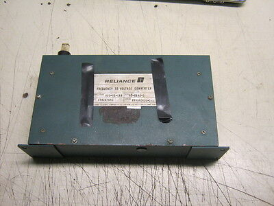Reliance Frequency To Voltage Converter 920-01-014 Rd61 Used Warranty
