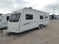 Bailey Senator Carolina 4/5/ 6 berth end bathroom twin axle,Top of Range.