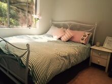 Queen iron bed and mattress in great condition Bondi Beach Eastern Suburbs Preview