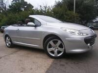 56 PEUGEOT 307 CC 2.0 16v SPORT CONVERTIBLE/COUPE AUTOMATIC 1 OWNER 30K FSH FAB