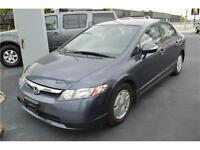2007 Honda Civic Hybrid CVT AT-PZEV, $61/Week OR $269/Month