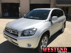2008 Toyota RAV4 GSA33R SX6 Silver Automatic Wagon Lisarow Gosford Area Preview