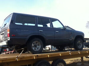 Toyota Land Cruiser 1981-1989 parts