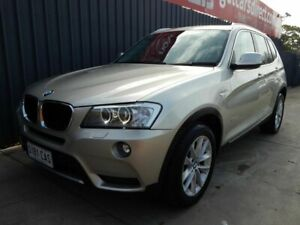 2011 BMW X3 F25 xDrive20d Steptronic Silver 8 Speed Automatic Wagon Blair Athol Port Adelaide Area Preview