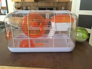 Habitrail Cristal cage for hamsters with accessories