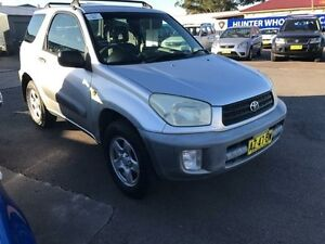 2001 Toyota RAV4 Silver Manual Hardtop Sandgate Newcastle Area Preview