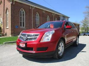 2010 Cadillac SRX 3.0 Luxury LEATHER+PANO+AWD+CERTIFIED