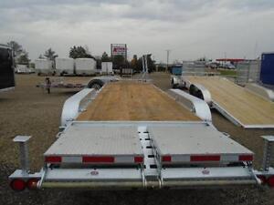 Triple axle Galvanized equipment trailer N&N CANADIAN MADE 21K London Ontario image 4