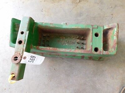 John Deere 30 Series Tractor Front Weight Bracket Part P53814 Tag 569