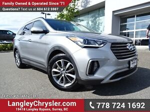 2017 Hyundai Santa Fe XL Limited ACCIDENT FREE w/ ALL-WHEEL D...