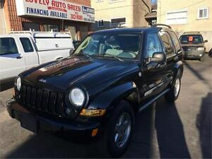 2007 Jeep Liberty Sport 4WD LEATHER SEATS