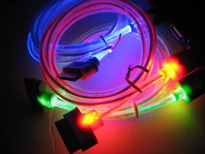 iPhone Data/Power LED Light Cable