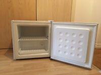White Tabletop Mini Freezer