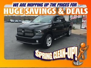 2014 Ram 1500 SPORT CREW LEATHER NAV