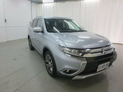 2015 Mitsubishi Outlander ZK MY16 LS 2WD Silver 6 Speed Constant Variable Wagon Glebe Hobart City Preview