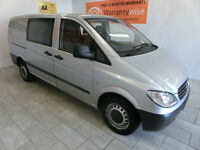 2005 Mercedes-Benz Vito 2.1TD Comfort LWB Dualiner *6 SEATER*