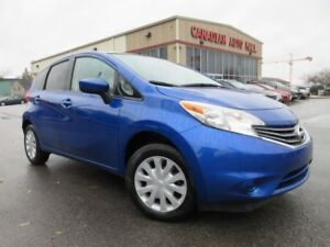 2015 Nissan Versa SV 5 SPD, A/C, BT, CAMERA, 38K!
