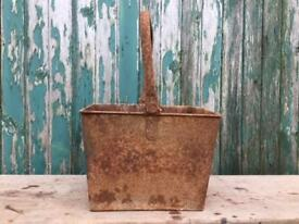 Salvaged square bucket