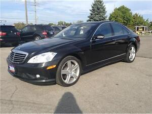 2009 Mercedes-Benz S-Class 4.7L V8|NAV|CAM|LEATHER|SUNROOF
