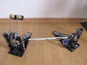 Pearl Double Kick Pedals.