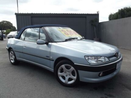 2001 Peugeot 306 Silver Automatic Convertible