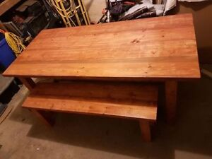 Custom Handcrafted Harvest Tables