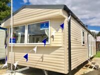 STUNNING DGCH MODERN CARAVAN FOR SALE AT COOPERS BEACH, MERSEA, ESSEX ***2018 FEES INCLUDED***