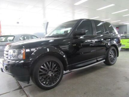 2008 Land Rover Range Rover MY08 Sport 2.7 TDV6 Black 6 Speed Auto Sequential Wagon