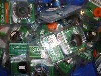 JOBLOT X135 Strimmer Trimmer Blades Lines, Spools. Flymo, Qualcast, Worx, Black & Decker
