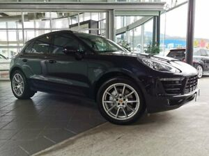 2015 Porsche Macan 95B MY16 S PDK AWD Black 7 Speed Sports Automatic Dual Clutch Wagon North Hobart Hobart City Preview