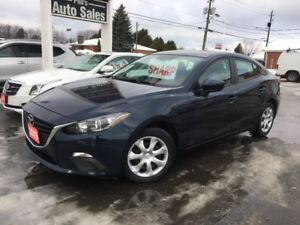 2015 Mazda Mazda3 GX / AUTOMATIC / SKY ACTIVE / FOR ONLY $13 995