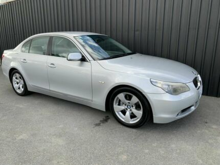 2005 BMW 525i E60 MY06 Upgrade Silver 6 Speed Auto Steptronic Sedan Phillip Woden Valley Preview