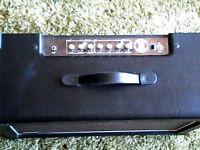 """Kustom Double Barrel, 30 watt combo, Loaded with twin 12"""" speakers - 2 channel amplifier"""
