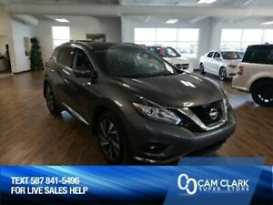 2015 Nissan Murano Platinum AWD Panoramic Sunroof, Navigation, H