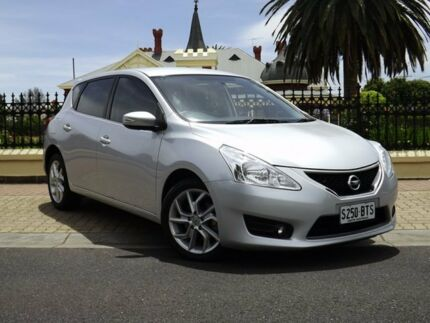 2013 Nissan Pulsar C12 ST-S Silver 1 Speed Constant Variable Hatchback