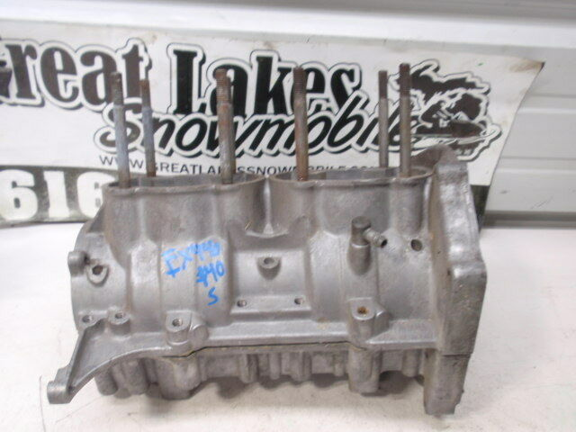 Yamaha Exciter 440 Vintage Snowmobile Engine Crankcase Cases EX440