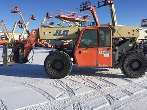 2007 JLG G9-43A Telehandler with SWING CARRIAGE