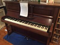 Challen upright piano for sale - Cambridge