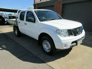 2010 Nissan Navara D40 RX (4x4) White 5 Speed Automatic King Cab Chassis Gilles Plains Port Adelaide Area Preview
