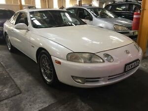1992 Toyota Soarer GT Limited (lexus SC400) White 4 Speed Automatic Coupe Georgetown Newcastle Area Preview