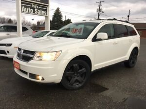 2009 Dodge Journey SXT AWD V6 // LOW KMS!!, REMOTE START..