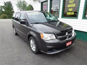 2016 Dodge Grand Caravan SXT for $179 bi-weekly all in!